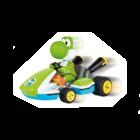 Carrera Racing . CRR Carrera 2,4 GHz Mario Kart(TM), Yoshi - Race Kart with Sound