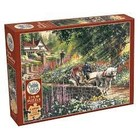 Cobble Hill . CBH Carriage Ride - Puzzle 275pc Nature Calgary