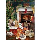 Cobble Hill . CBH Christmas Kittens - Puzzles 1000pc Calgary