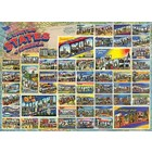 Cobble Hill . CBH Vintage American Postcards - Puzzle 1000pc Calgary