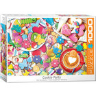 Eurographics Puzzles . EGP Cookie Party Jigsaw Puzzle Eurographics 1000pc Food Calgary