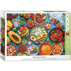 Eurographics Puzzles . EGP Mexican Table Jigsaw Puzzle Eurographics 1000pc Calgary