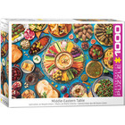 Eurographics Puzzles . EGP Middle East Table Eurographics 1000pc Jigsaw Puzzle Calgary