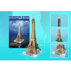 Daron Worldwide Trading . DRN Eiffel Tower Small 37pc Puzzle