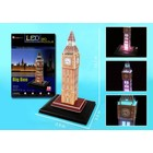 Daron Worldwide Trading . DRN Big Ben 3D Puzzle With Lights 28pc