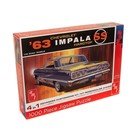AMT\ERTL\Racing Champions.AMT 1963 Chevy Impala Hardtop 1,000 pc Jigsaw Puzzle