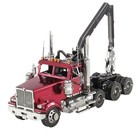 Fascinations . FTN Metal Earth - Western Star 4900 Log Truck(3 sheet)