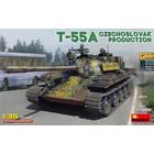 Miniart . MNA 1/35 T-55A Czechoslovak Prod. Tank