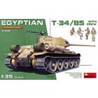 Miniart . MNA 1/35 Egyptian T-34/85 w/crew