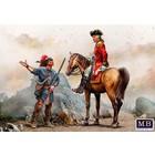 Masterbox Models . MTB 1/35 Enemy Movement Report. Indian Wars Series, XVIII century.