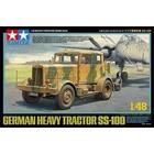 Tamiya America Inc. . TAM 1/48 Heavy Tractor SS-100