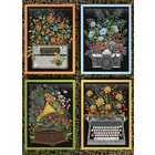 Cobble Hill . CBH Floral Objects Puzzle 1000pc
