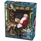 Cobble Hill . CBH Santa's Workbench - Puzzle 500pc