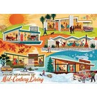 Cobble Hill . CBH Four Seasons Of Mid Century - Puzzle 500pc
