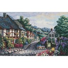 """Dimensions . DMS Counted Cross Stitch Kit 17""""X11"""" - Memory Lane"""
