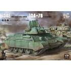Border Model . BDM 1/35 T34 Screened Type & T34-76