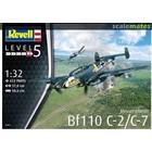 Revell of Germany . RVL 1/32 Messerchmitt Bf110 C-7