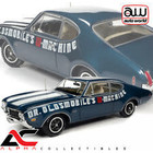 American Muscle Diecast . AMD American Muscle 1/18 1969 Oldsmobile Cutlass 442 2-Door Coupe (Dr Oldsmobile's W-Machine) - Trophy Blue
