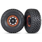 Traxxas Corp . TRA Traxxas Tires and Wheels, Assembled, Glued BFGoodrich Baja KR3 Tires