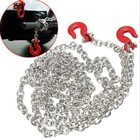 Hi-Performance . HDI 1/10 Scale Metal tow chain with hooks (Length 96cm)