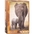 Eurographics Puzzles . EGP Elephant & Baby – 1000pc Puzzle