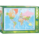 Eurographics Puzzles . EGP Modern Map of the World  – 1000pc Puzzle