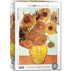 Eurographics Puzzles . EGP Twelve Sunflowers by Van Gogh - 1000pc Puzzle