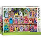 Eurographics Puzzles . EGP Home Tweet Home (Birdhouses) - 1000pc Puzzle