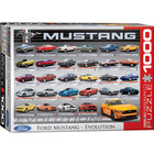 Eurographics Puzzles . EGP Ford Mustang Evolution