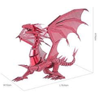 Fascinations . FTN Metal Earth - Iconx - Red Dragon