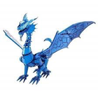 Fascinations . FTN Metal Earth - Iconx - Blue Dragon