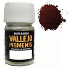 Vallejo Paints . VLJ Brown Iron Oxide Pigment 30ML