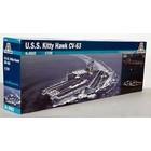 Italeri . ITA USS Kitty Hawk CV-63