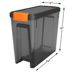 Traeger BBQ . TRG Stay Dry Pellet Bin and Lid