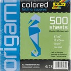 "Global Art . GLO Global Art Origami Paper 6"" x 6"" - Assorted Colors Art Crafts Calgary"