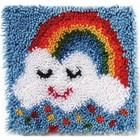 Caron . CAR Rainbow Sprinkles - Latch Hook