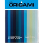 Aitoh . AIT Origami Paper - Shades of Blue