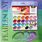 Royal (art supplies) . ROY Pearlescent Watercolor Cakes Paint Set Painting Kit Calgary