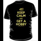 PM Hobbycraft's Own . PMO Keep Calm and Get a Hobby T-Shirt (Medium)