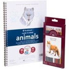 Strathmore . STR Learn To Draw Animals In Color Set