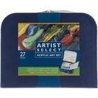 Pro Art . PAT Artist Select Acrylic Art Set 27/Pkg