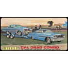 AMT\ERTL\Racing Champions.AMT 1/25 Cal Drag Combo 1964 Galaxie, AWB Falcon & Trailer