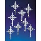 Beadery . BDR Holiday Beaded Ornament KitCrystal Crosses