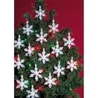 Beadery . BDR Holiday Beaded Ornament KitMini Snowflakes