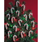 Beadery . BDR Holiday Beaded Ornament Kit Mini Candy Canes