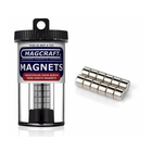 """Magcraft Magnets . MFM 0.375"""" X 0.25"""" Rare Earth Disc Magnet (12)"""
