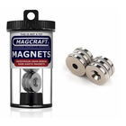 Magcraft Magnets . MFM 3/4X1/5X1/8 Rare Eart Rng Magnet