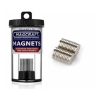 """Magcraft Magnets . MFM 0.5"""" X 0.625"""" Rare Earth Disc Magnet (24)"""