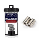 """Magcraft Magnets . MFM 0.5"""" X 0.25"""" X 0.125"""" Rare Earth Ring Magnet (12)"""