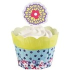 Wilton Products . WIL (DISC) - DISC)-CUPCAKE COMBO FLWR POT PE